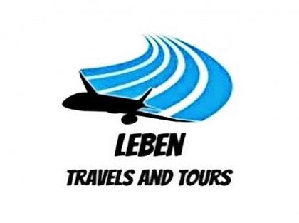 Logo for Leben travels and tours