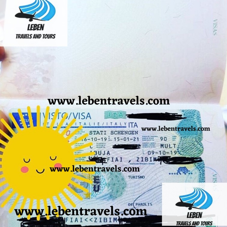 SCHENGEN - ITALY TOURIST VISA 90 DAYS - MULTI