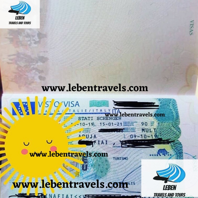 SCHENGEN - ITALY TOURIST VISA 90 DAYS - MULTI ENTRY VISA